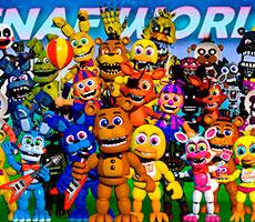 FNAF World gioco